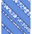 mosaic and ribbons vector image vector image