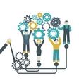 Gear Teamwork Concept vector image