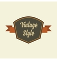 Retro vintage badges logo and labels Pin badge vector image