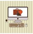 tracel icon design vector image