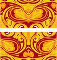 flourish background vector image vector image