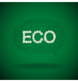 Floral Eco vector image vector image