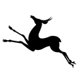 Antelope Animal Silhouettes vector image