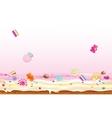 Crazy candies vector image