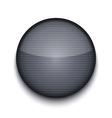 circle metal icon vector image vector image