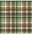 green plaid diagonal seamless fabric texture vector image