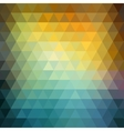 Abstract retro hipster geometric background vector image