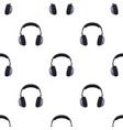 vintage headphones icon in cartoon style isolated vector image