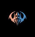 wings logo vector image