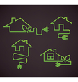 smart homes vector image