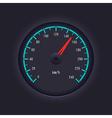 Speedometer design vector image vector image