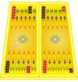 Backgammon vector image