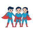 3 Heroes vector image vector image