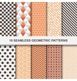 geometric patterns - seamless vector image