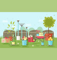 gardening and agriculture equipment and tools vector image