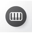 piano icon symbol premium quality isolated octave vector image