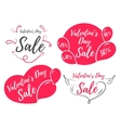 Sale set vector image