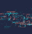 abstract background with binary code analysis and vector image