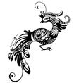 Peacock bird vector image