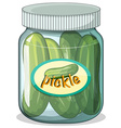 Pickle vector image