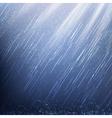 Rain in Rays of Light vector image