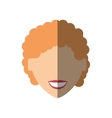 people face commoner woman icon image vector image