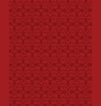 abstract red background with repeated pattern vector image