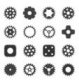 Machine Gear Wheel Cogwheel vector image vector image