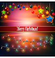 Abstract celebration background with Christmas vector image vector image