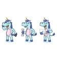 Unicorn Mascot with laptop vector image