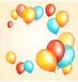 ballon card vector image vector image