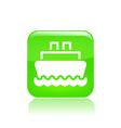 navy icon vector image vector image