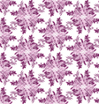 abstract seamless floral scroll patterns rhombus vector image