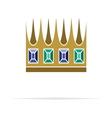 Crown icon5 vector image