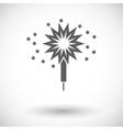 Sparkler vector image