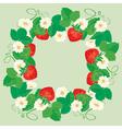 strawberry frame 3 380 vector image