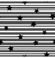 Line and star seamless pattern 3910 vector image