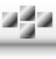Virtual art presentation gallery vector image