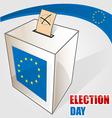 european election vector image