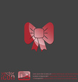 bow icon vector image
