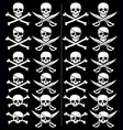 jolly roger vector image