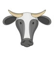 Cow icon cartoon style vector image