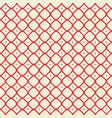 pattern in retro style with red squares vector image