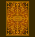 tribal book cover vector image