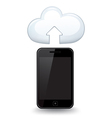 Smart Phone Cloud vector image