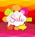 Colorful Speech Bubble Banner vector image vector image