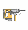 puncher icon vector image