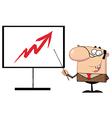 Presentation cartoon vector image