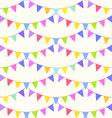 Garland pattern vector image