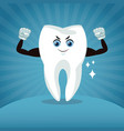 dental care cartoons and icons vector image